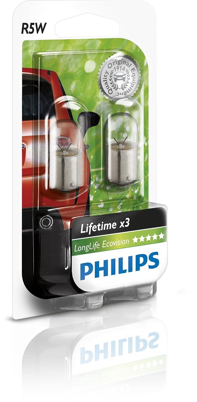 Philips 12821LLECOB2 - R5W Long Life EcoVision B2, 12V, 5W 0730520