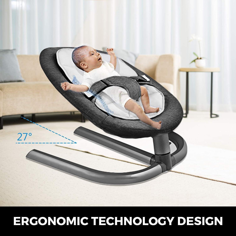 Babywippe Babyschaukel Babywiege Schlafen Aluminiumlegierung Schaukelwippe