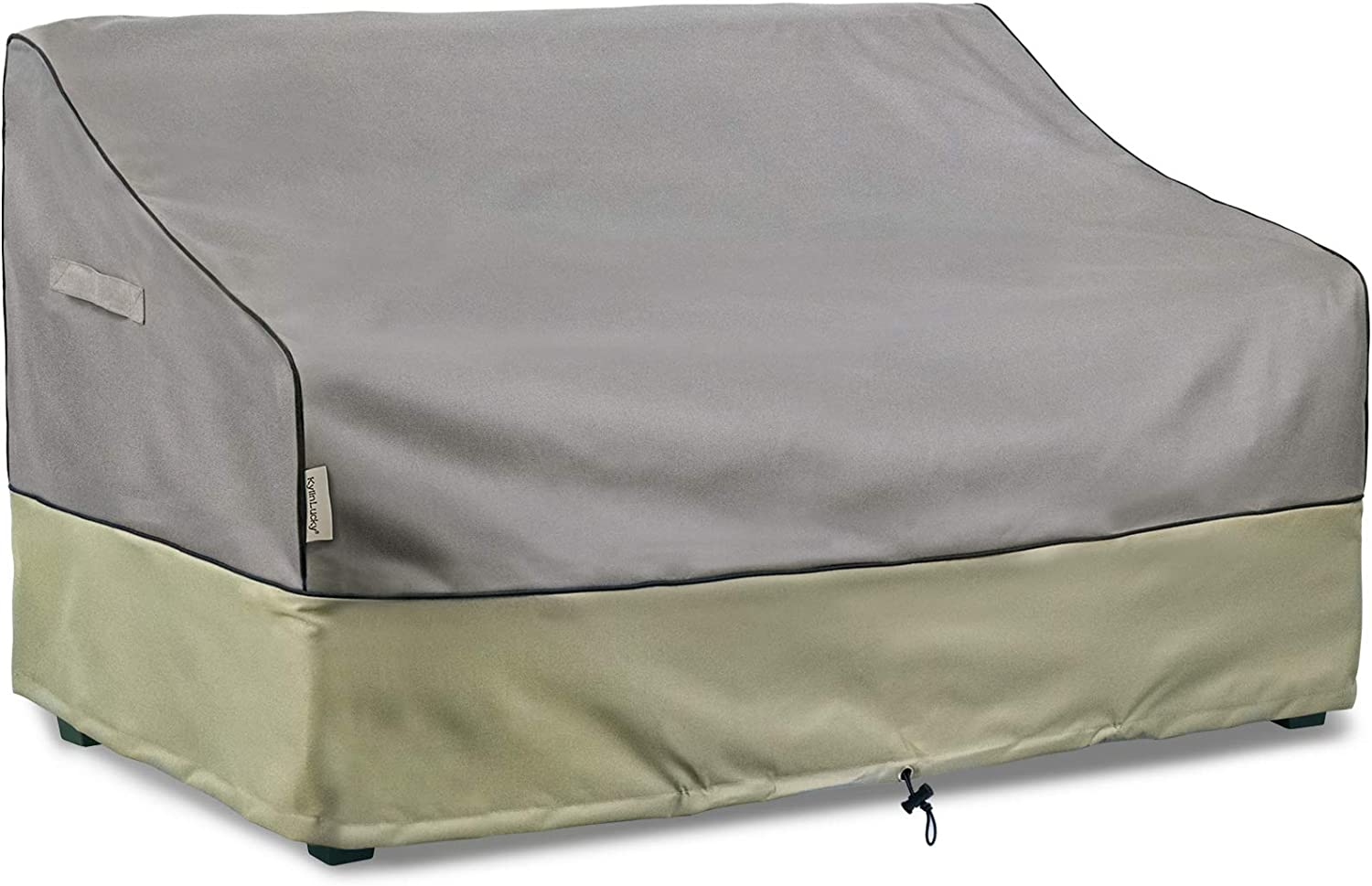 KylinLucky Outdoor Furniture Covers Waterproof, 2-Seater Patio Sofa Covers Fits up to 52W x 32D x 34H inches