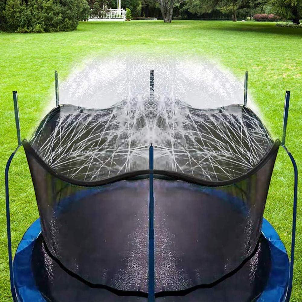 Bobor Trampoline Sprinkler for Kids, Outdoor Trampoline Backyard Water Park Sprinkler Fun Summer Outdoor Water Toys for Boys Girls. (39ft): Toys & Games