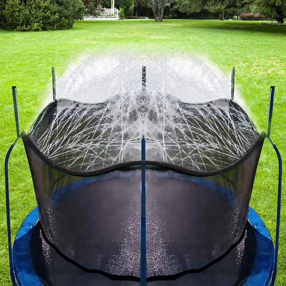 Bobor Trampoline Sprinklers for Kids, Outdoor Trampoline Spary Park Fun Summer Water Toys.(39ft) by Bobor