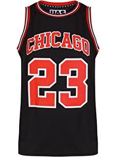730f3f27312 Mens Chicago Basketball Jersey Gym Vest Sports Top UrbanAllStars Sleeveless  Tee
