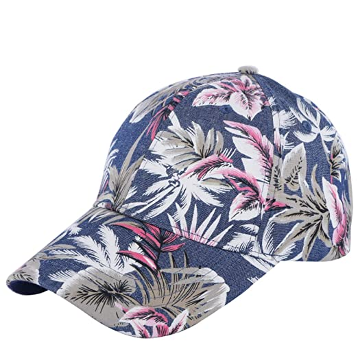 f7f2579afd7 100% Cotton Men Women Casual Baseball Cap hat Print Floral Style Adult Size  boy Girl Beauty caps at Amazon Women s Clothing store