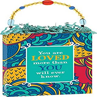 """product image for Imagine Design 4""""x5"""" Loved You'Re a Gift Plaque"""