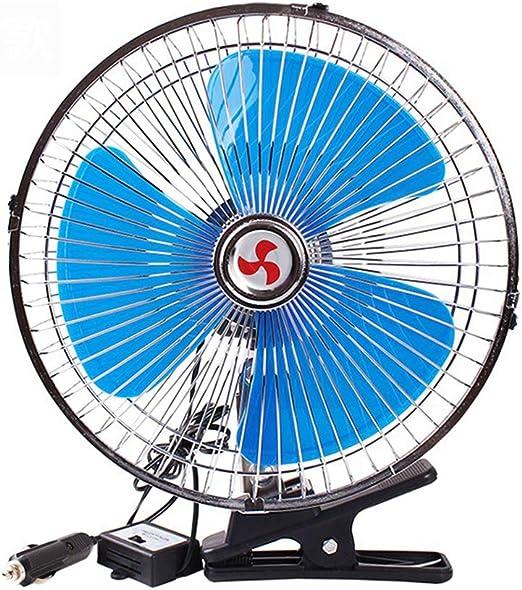 Fan Fan Ventilador de Coche de 10 Pulgadas, Ventilador Silencioso ...