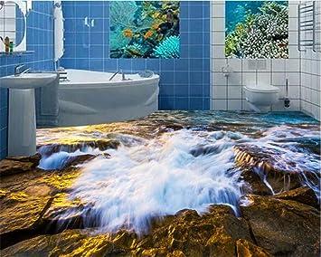 Malilove Eine Schöne Welle Stein 3d Wohnzimmer Badezimmer Fliesen