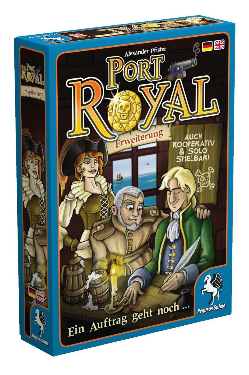 Pegasus Spiele 18141G - Port Royal - Ein Auftrag geht noch ...