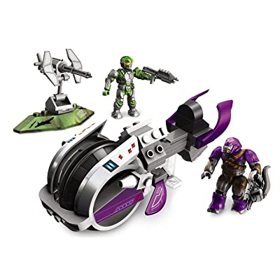 Mega Bloks Halo Wars Covenant Brute Chopper: Toys & Games