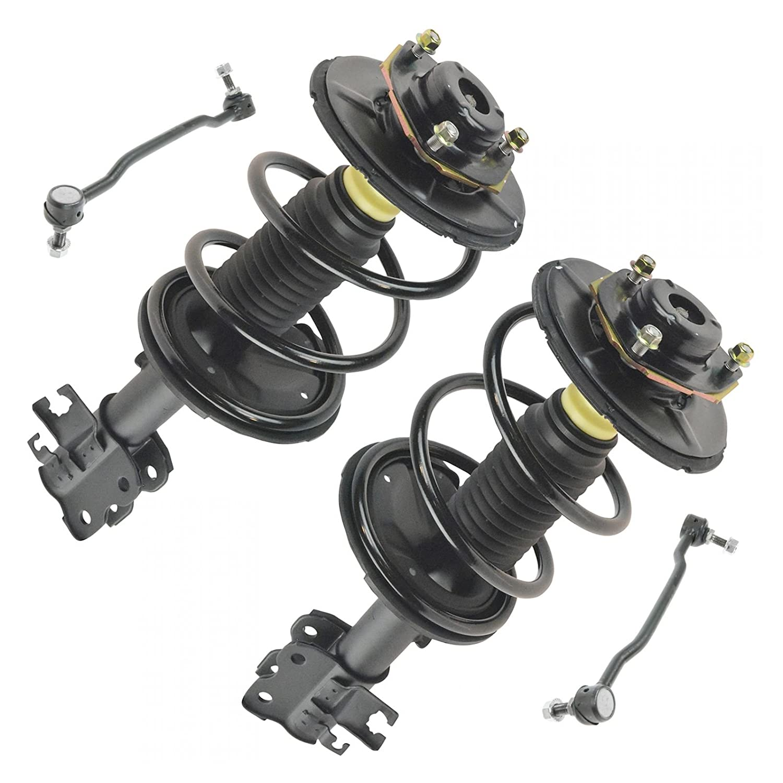 4 Piece Kit Shock Strut Spring Assembly Stabilizer Sway Bar End Link LH RH New