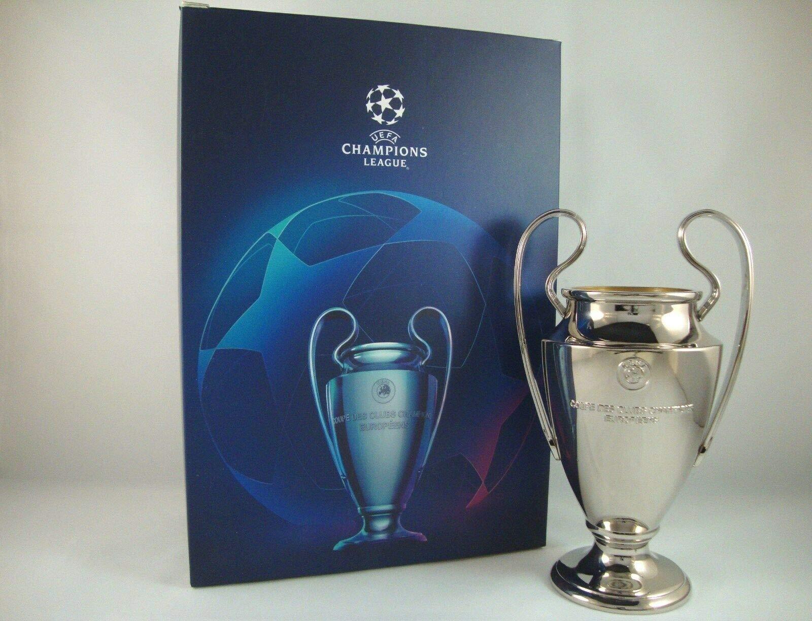 15cm UEFA Europa League Unisex/_Adult Pokal Trophy 150 mm Silver 150mm