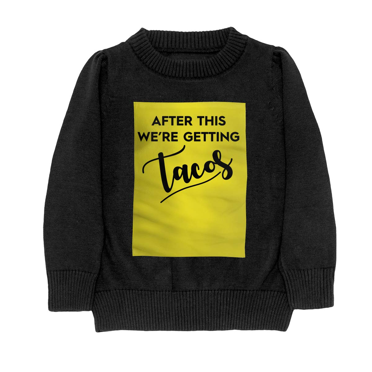 WWTBBJ-B After This Were Getting Tacos Style Teenager Boys Girls Unisex Sweater Keep Warm