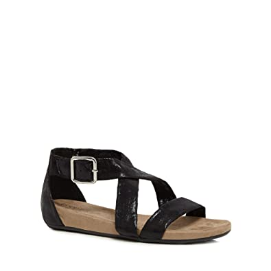 7d9723876f7 Good for the Sole Womens Black  Giselle  Wide Fit Ankle Strap Sandals 3