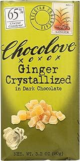 product image for Chocolove Xoxo Dark Chocolate Bar Crystallized Ginger 3.2 Oz -Pack of 12