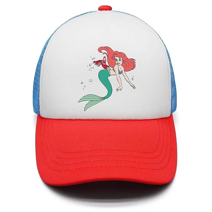 Amazon.com  Custom Boys Girls Cute Mermaid Baseball Hat Sports Caps ... e9641539bb7