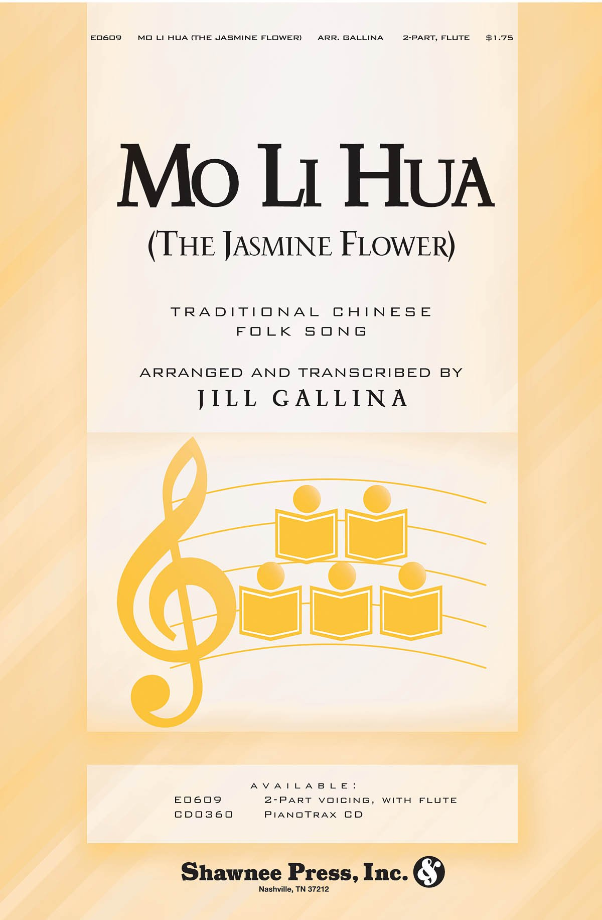 Mo Li Hua The Jasmine Flower 2 Part Choral Sheet Music