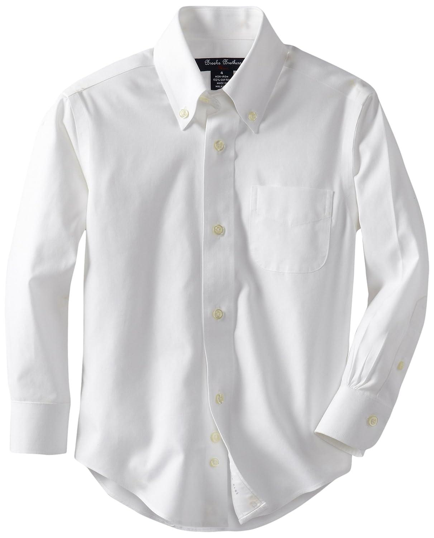 Amazon Brooks Brothers Little Boys Non Iron Button Down Collar