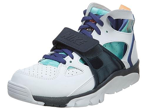 nike air trainer huarache mens hi top trainers 679083 sneakers shoes (uk 9.5 us 10.5