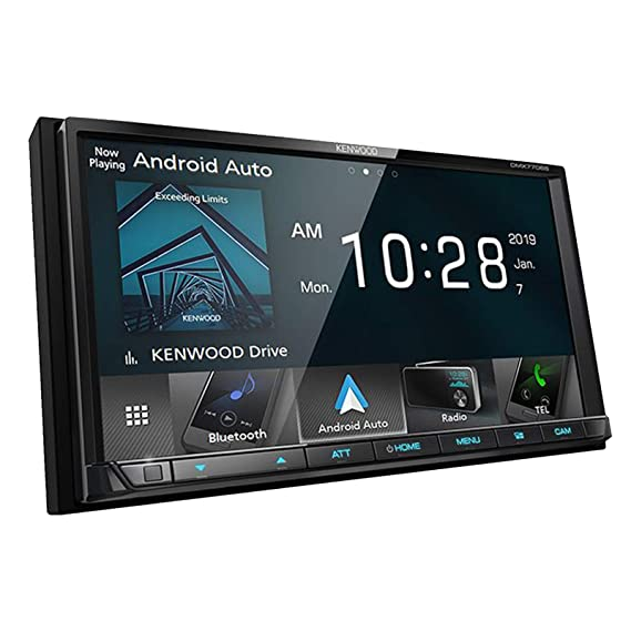 amazon com: kenwood dmx7704s 2-din digital media receiver with bluetooth &  hd radio: cell phones & accessories