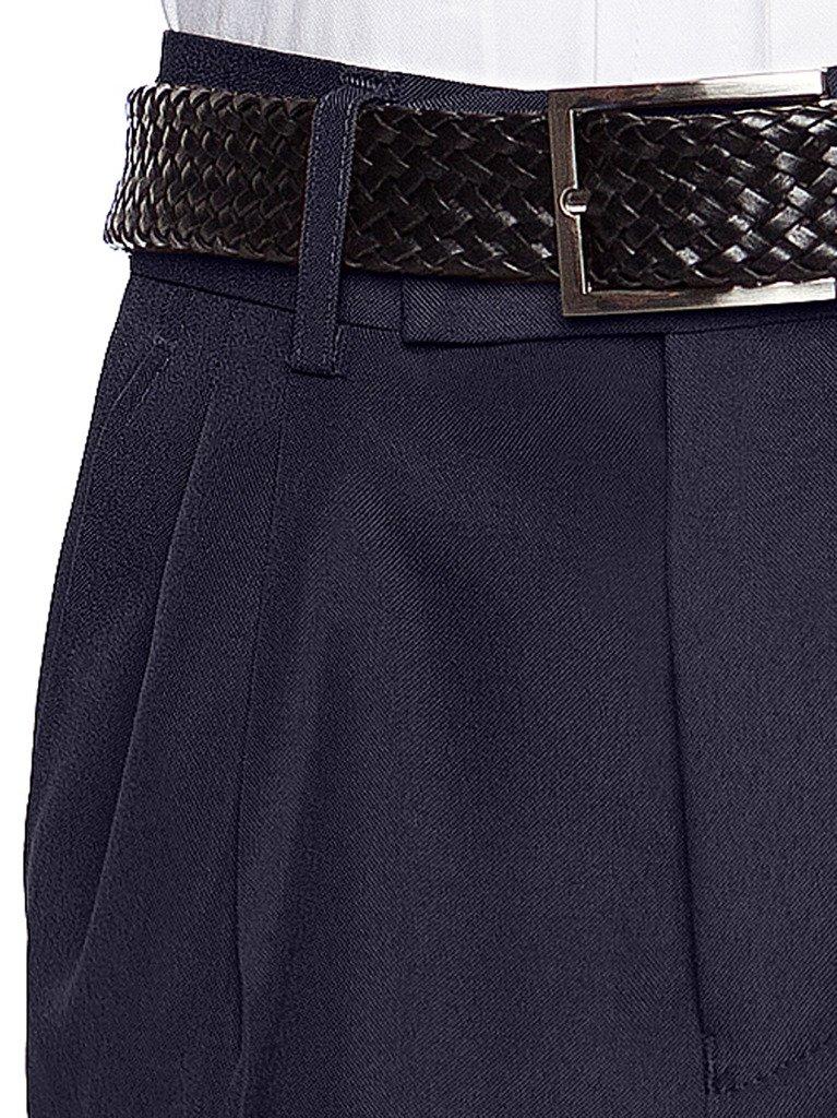 RGM 100% Dacron, Pleated Front, Boys Dress Slacks Navy 18 by RGM (Image #1)