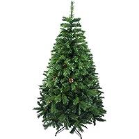 Árbol de Navidad Artificial de Pino Maxi-Relleno Arboles Abeto C/Soporte Metálico 150-240cm