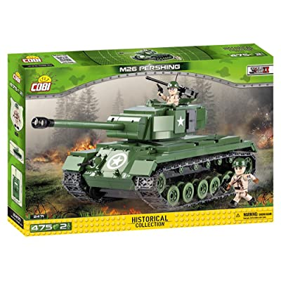 COBI SMALL ARMY WWII - 2471 - M-26 PERSHING (CHAR PERSHING)