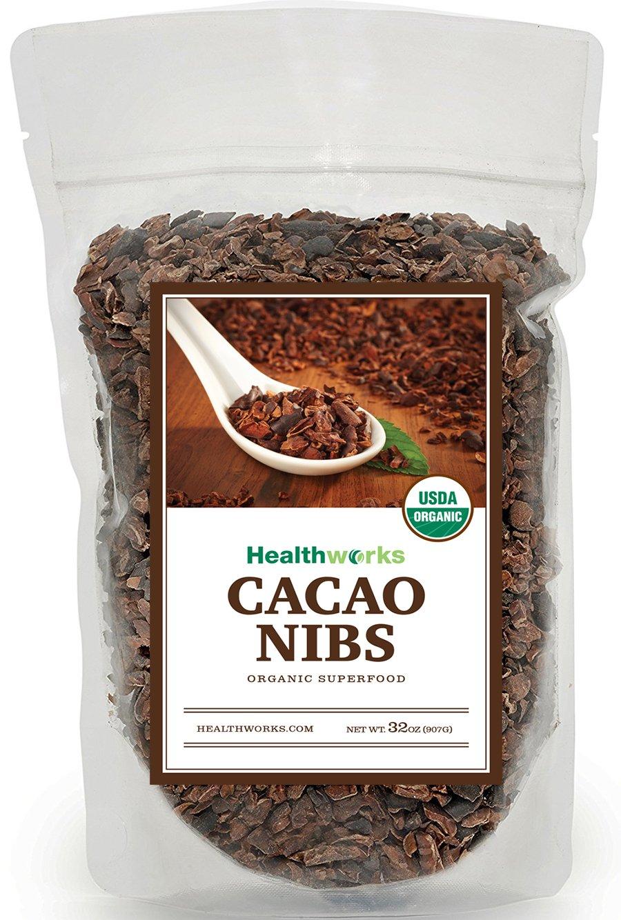Healthworks Cacao Nibs Organic, 2lb