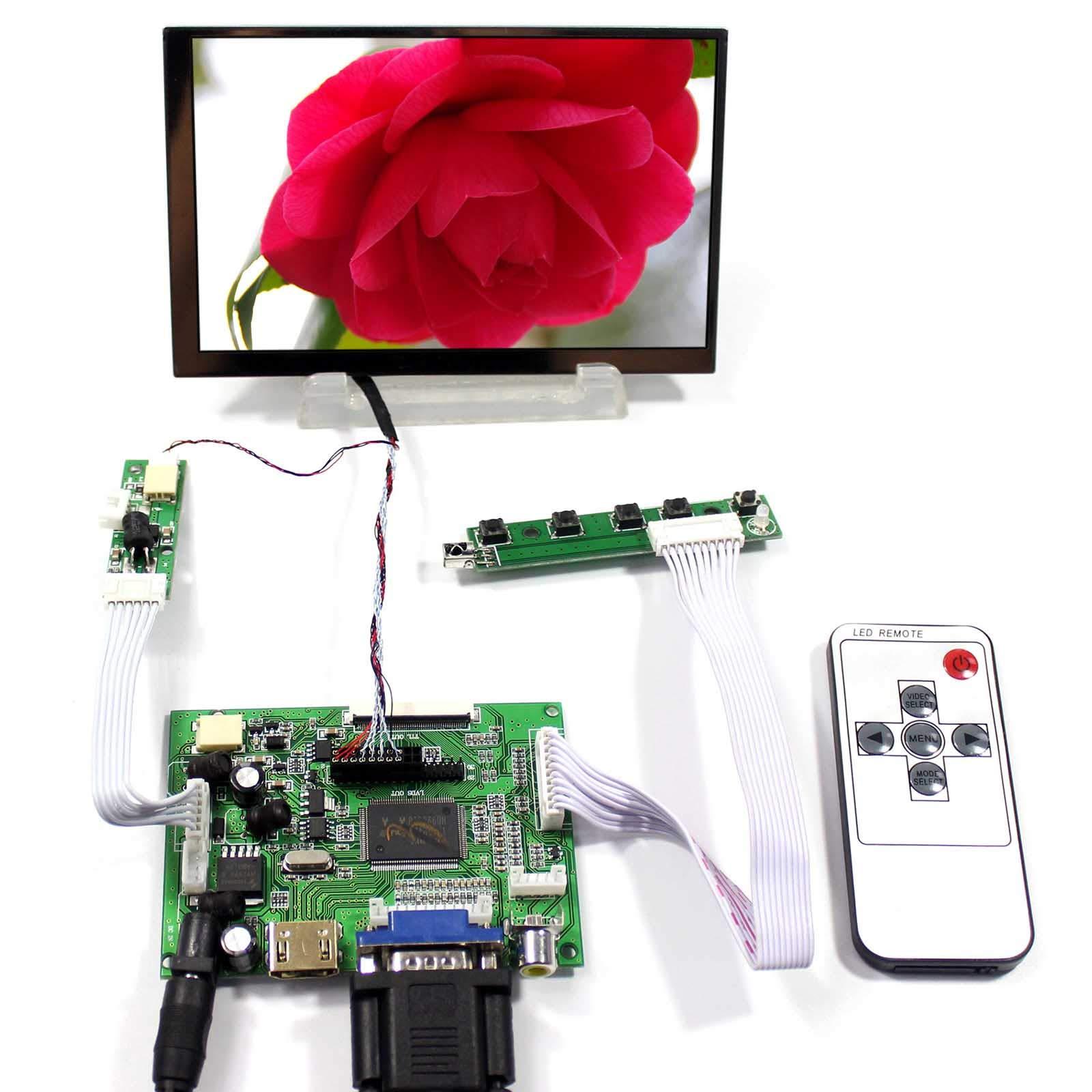 Controladora LCD HDMI VGA 5.6 1024x600 LTD056ET3A