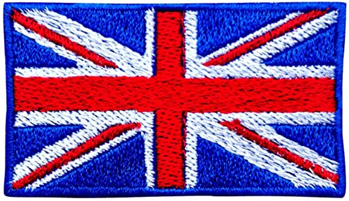 Union Jack Iron On Patch by Body-Design: Amazon.co.uk