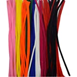 Asian Hobby Crafts Pipe Cleaner For Hobby Crafts/Scrapbooking/DIY Accessory (12 inch, 100 Pieces)
