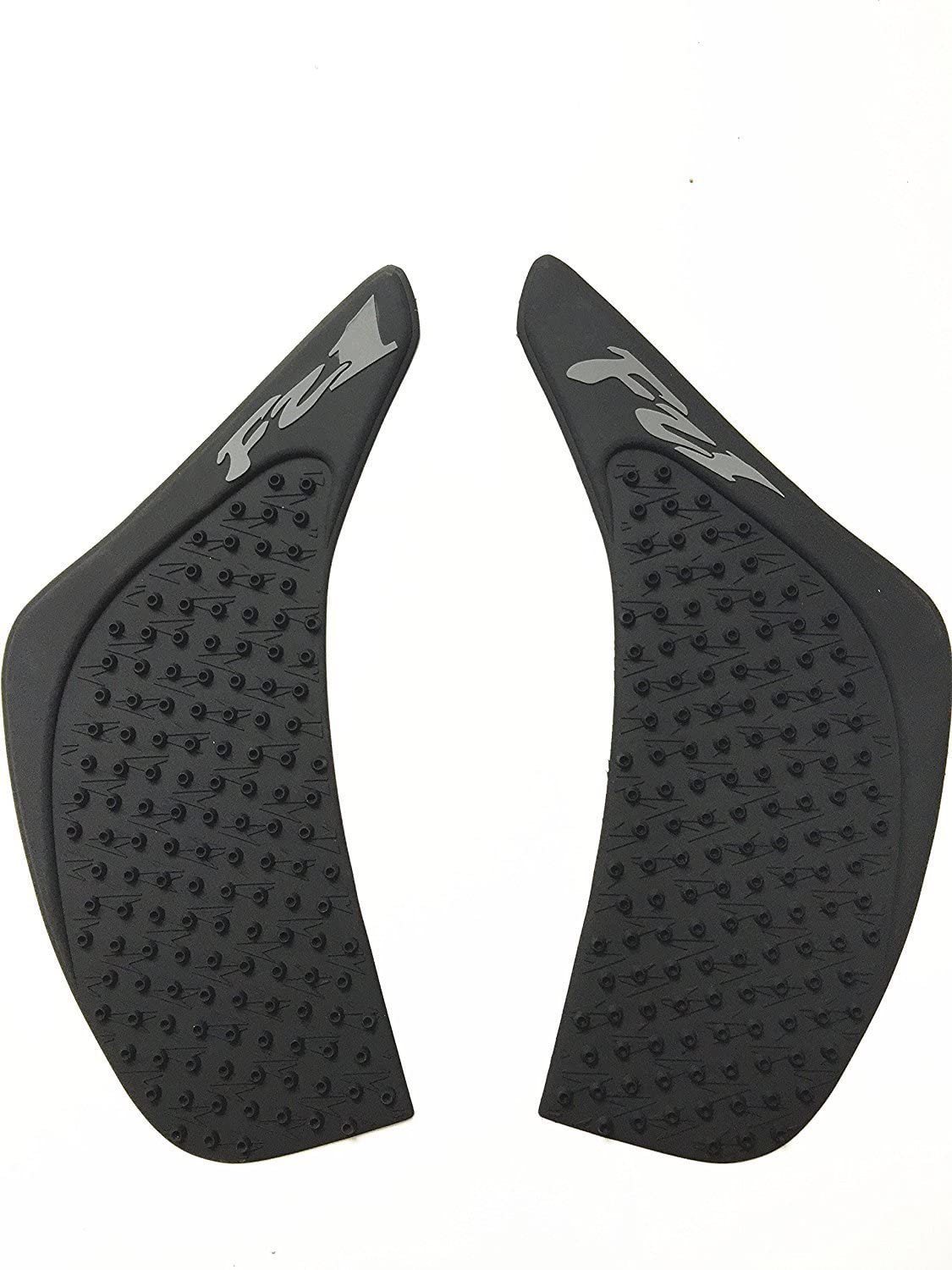 Tank Traction Pad Side Fuel Gas Grip Knee Decal Protector For Yamaha FZ6 06-10