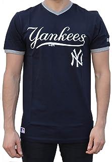 A NEW ERA Ne96423fa16 MLB Ringer tee Neyyan Camiseta Manga Corta-Línea York  Yankees f4a3a905b75