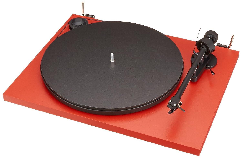Pro-Ject Essential II - Tocadiscos, rojo: Amazon.es: Electrónica