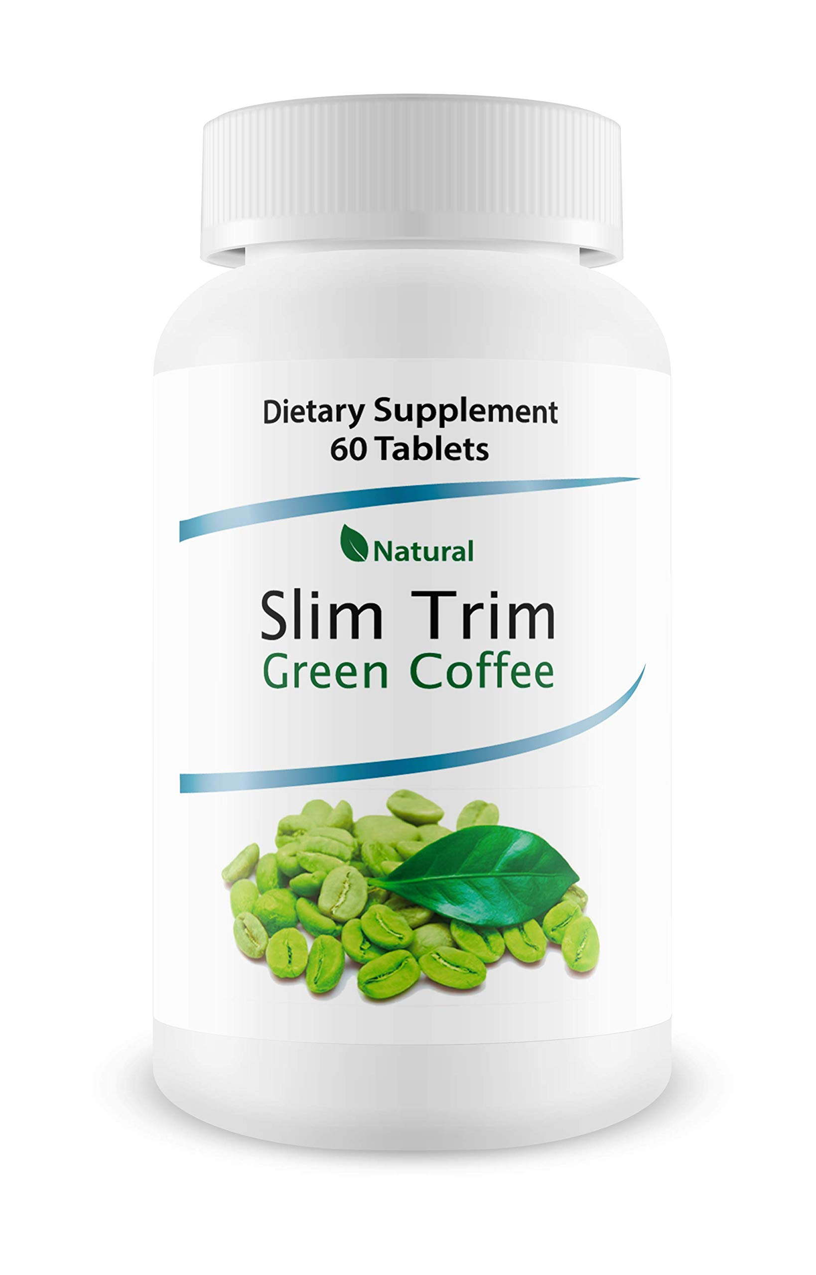 Slim Trim Green Coffee - Complete Premium Weight Management Formula-Natural and Potent Weight Loss Pills for Men and Women - Burn Belly Fat - Metabolism Booster