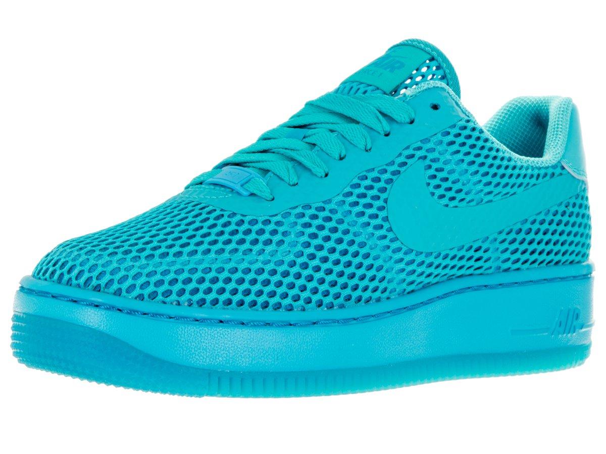 NIKE Women's AF1 Low Upstep BR Gamma Blue/Gamma Blue/BL Lgn Casual Shoe 9 Women US