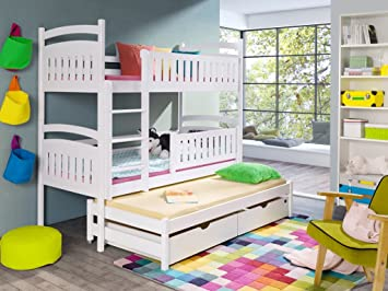 Etagenbett Für 3 : Wohnideebilder hochbett etagenbett kinderbett bianka für