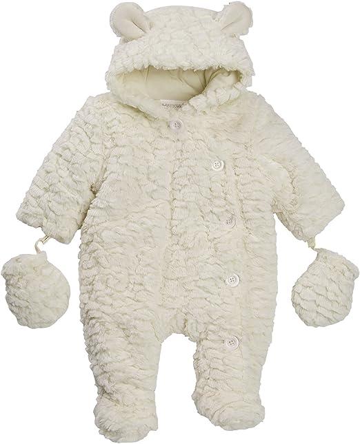 Lora Dora Baby Girls Hooded Snowsuit