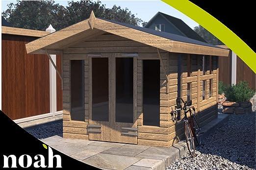 Noah - Cesta de jardín de madera resistente para jardín o taller ...