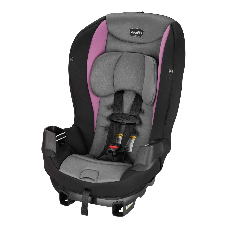 Evenflo Sonus Convertible Car Seat, Amethyst