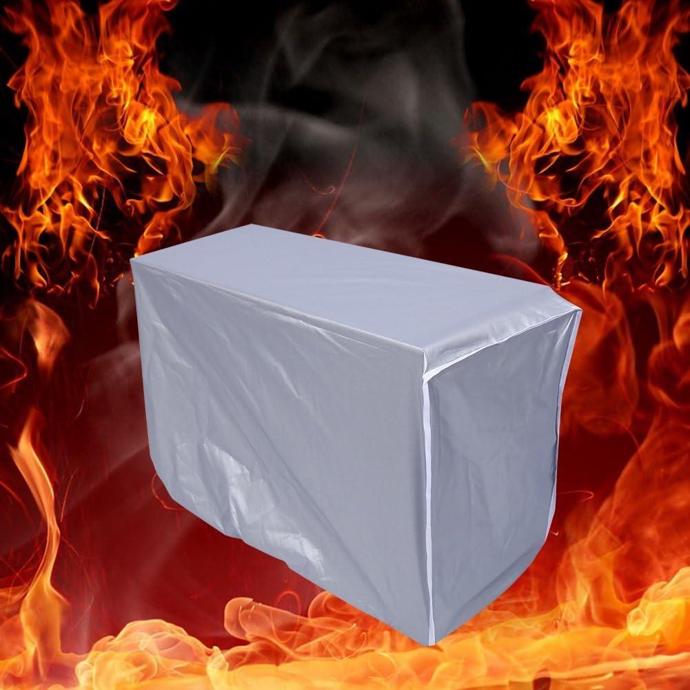 80*28*54cm Housse pour climatiseur ext/érieur Couverture imperm/éable de climatiseur de couverture de climatiseur ext/érieur