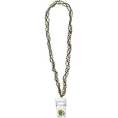 Braided Beads w/Fiesta Glass Party Accessory (1 count) (1/Card): Kitchen & Dining