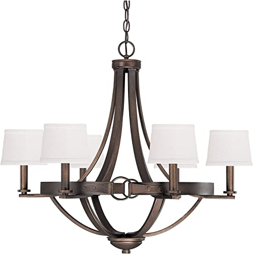 Capital Lighting 4206TB-546 Chastain 6-Light Chandelier