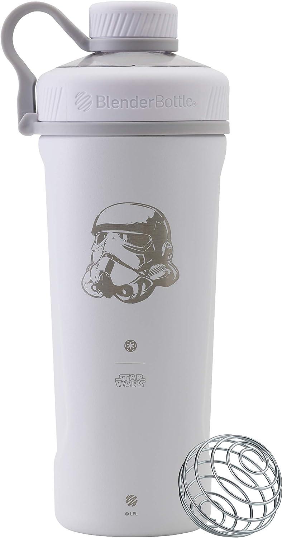 BlenderBottle Star Wars Radian Insulated Stainless Steel Shaker Bottle Stocking Stuffer, 26-Ounce, Stormtrooper