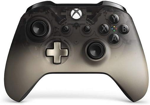Microsoft - Mando Inalámbrico Negro (Phantom Black), Xbox One: Amazon.es: Videojuegos