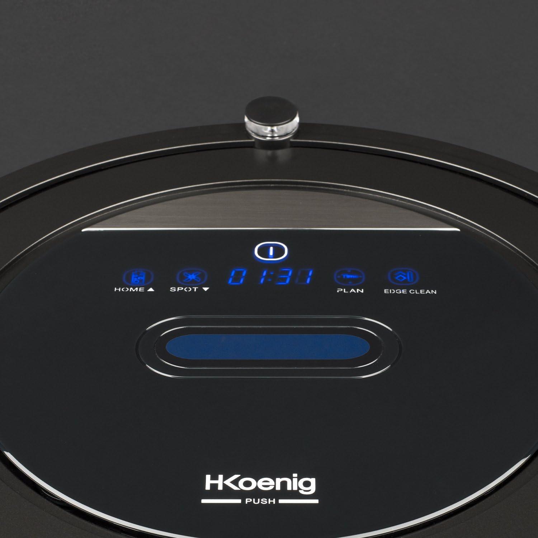 H.Koenig WRC110 Watermop Robot Aspirador con Wifi y Controlador Remoto: Amazon.es: Hogar