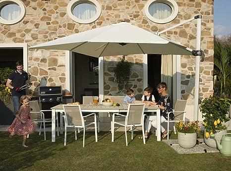 Mobili Da Giardino Garden Team.Garden Team Set Pranzo Da Giardino In Alluminio Bianco E