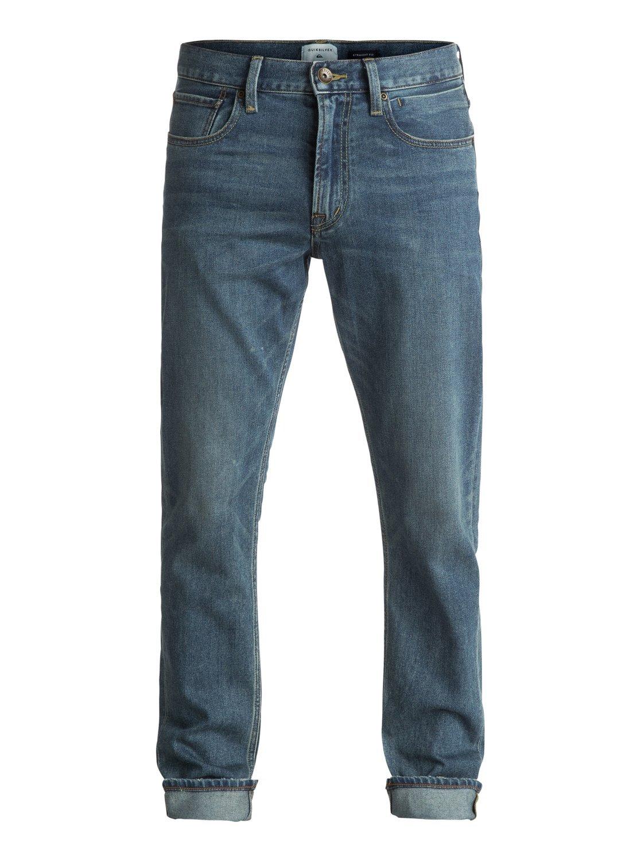 TALLA 32 x 34 (cintura x largo). Quiksilver revolvermedblue M bygw Denim Pants, Bering Sea/Wash, 32/34