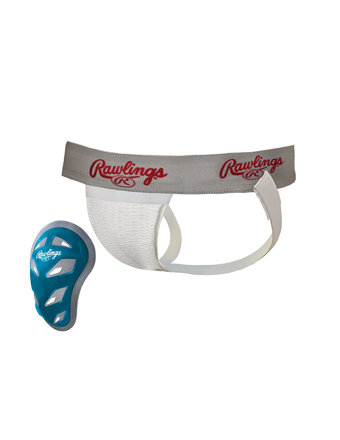 Adult Athletic Supporter with Cage Cup Rawlings Sporting Goods