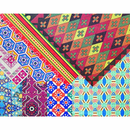 Roylco R15282 Middle East Design Paper, 32 Sheets, 0.16