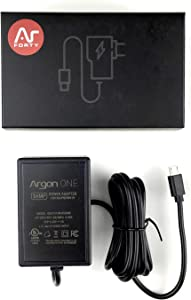 Argon ONE Raspberry Pi Micro USB Cable Power Supply 5.25 Volts 3 Amps   UL Listed