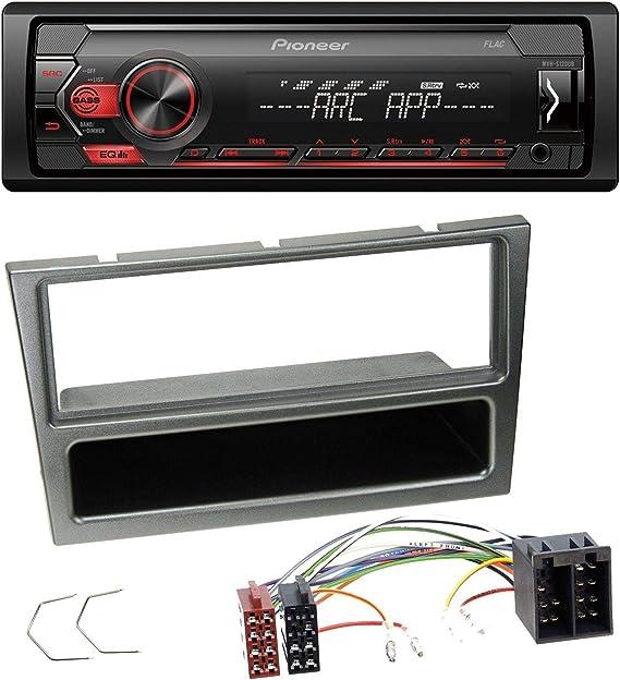 Caraudio24 Pioneer Mvh S100ub Usb Aux Mp3 1din Elektronik